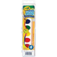 CYO 530525 Crayola 8ct Washable Watercolor Set CYO530525