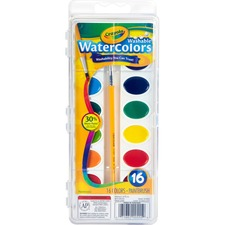 CYO 530555 Crayola Washable Watercolor Set CYO530555