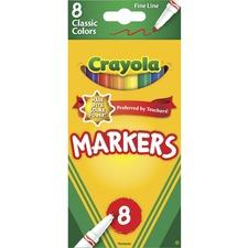 CYO 587709 Crayola Fine Tip Classic Markers CYO587709