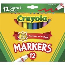 CYO 587712 Crayola Broad Tip Classic Markers CYO587712