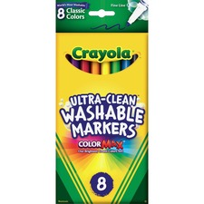 CYO 587809 Crayola Thinline Washable Markers CYO587809