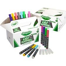 CYO 588212 Crayola GelFX Washable Markers Classpack CYO588212