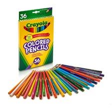CYO 684036 Crayola Presharpened Colored Pencils CYO684036