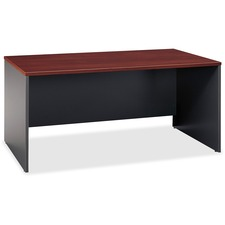 BSH WC24442 Bush Bus. Furn. Series C Cherry/Graphite Desking BSHWC24442