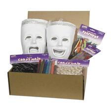 CKC 1720 Chenille Kraft Plastic Masks Activities Kit CKC1720