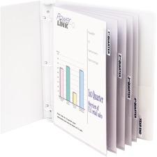 CLI 05557 C-Line Top Loading Sheet Protectors w/Tab Inserts CLI05557