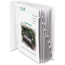 CLI 05587 C-Line Top Loading Sheet Protectors w/Tab Inserts CLI05587