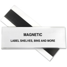 CLI 87247 C-Line Hol-Dex Magnetic Shelf/Bin Label Holders CLI87247