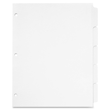 CRD 60506 Cardinal Write 'N Erase Mylar Tab Dividers CRD60506