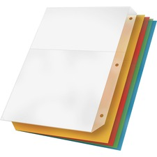 CRD 84007 Cardinal Ring Binder Poly Pockets CRD84007