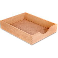 CVR CW07211 Carver Wood Oak Finish Desk Trays CVRCW07211