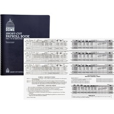DOM 650 Dome Publishing Short-Cut Payroll Book DOM650