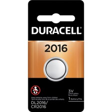 DUR DL2016BPK Duracell Duralock Power Preserve 2016 Battery DURDL2016BPK
