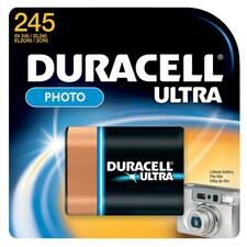 DUR DL245BPK Duracell Lithium Photo 6-Volt Batteries DURDL245BPK