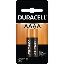 DUR MX2500B2PK Duracell Ultra AAAA Batteries DURMX2500B2PK