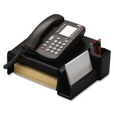 ROL 62538 Rolodex Wood Tones Phone Stand ROL62538