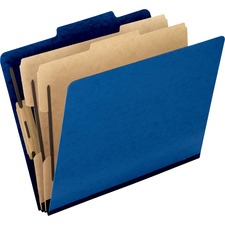 PFX 1257BL Pendaflex Pressguard Classification Folders PFX1257BL