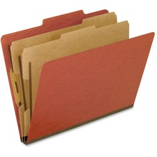 PFX 1257R Pendaflex 6 Section Classification Folders PFX1257R