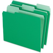 PFX 15213BGR Pendaflex Two-tone Color File Folders PFX15213BGR