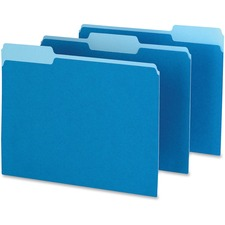 PFX 15213BLU Pendaflex Two-tone Color File Folders PFX15213BLU