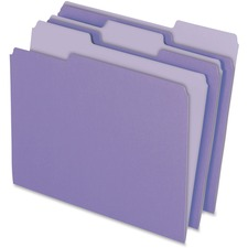 PFX 15213LAV Pendaflex Two-tone Color File Folders PFX15213LAV