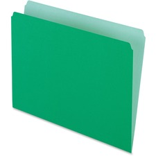PFX 152BGR Pendaflex Interior Grid Colored File Folders PFX152BGR
