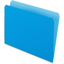 PFX 152BLU Pendaflex Straight Cut Colored File Folders PFX152BLU