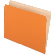 PFX 152ORA Pendaflex Straight Cut Colored File Folders PFX152ORA