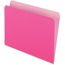 PFX 152PIN Pendaflex Straight Cut Colored File Folders PFX152PIN