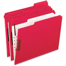 PFX 21319 Pendaflex 1/3 Cut Colored Fastener Folders PFX21319