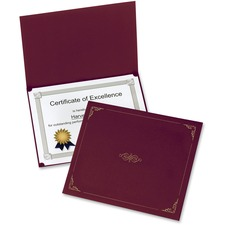 OXF 29900585BGD Oxford Linen-finish Certificate Holders OXF29900585BGD