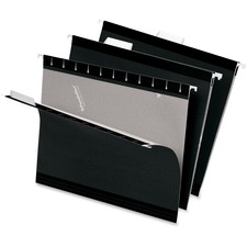 PFX 415215BLA Pendaflex Reinforced Hanging Folders PFX415215BLA