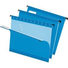 PFX 415215BLU Pendaflex Reinforced Hanging Folders PFX415215BLU