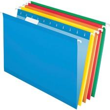 PFX 415315ASST Pendaflex Reinforced Hanging Folders PFX415315ASST