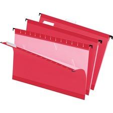 PFX 415315RED Pendaflex Reinforced Hanging Folders PFX415315RED