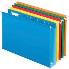 PFX 4153X2ASST Pendaflex Extra Capacity Reinforced Hanging Folder PFX4153X2ASST