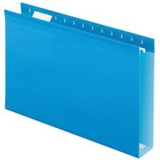 PFX 4153X2BLU Pendaflex Extra Capacity Reinforced Hanging Folder PFX4153X2BLU