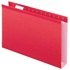PFX 4153X2RED Pendaflex Extra Capacity Reinforced Hanging Folder PFX4153X2RED