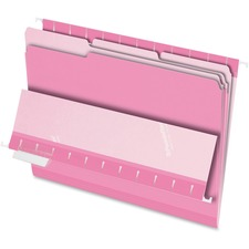 PFX 421013PIN Pendaflex Pink Interior Folders PFX421013PIN