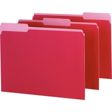PFX 421013RED Pendaflex 1/3-cut Tab Color-coded Interior Folders PFX421013RED