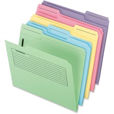PFX 45270 Pendaflex Printed Notes Fastener File Folders PFX45270