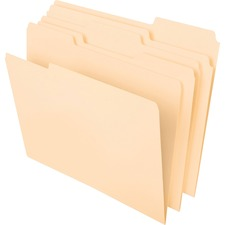 PFX 48430 Pendaflex WaterShed Cutless File Folders PFX48430