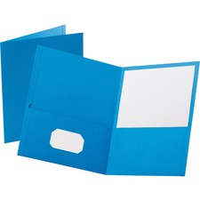 OXF 57501 Oxford Twin Pocket Letter-size Folders OXF57501