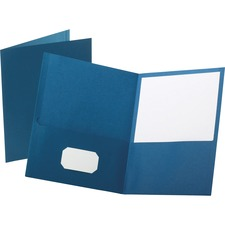 OXF 57502 Oxford Twin Pocket Letter-size Folders OXF57502