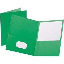 OXF 57503 Oxford Twin Pocket Letter-size Folders OXF57503