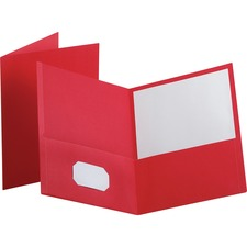 OXF 57511 Oxford Twin Pocket Letter-size Folders OXF57511