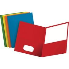 OXF 57513 Oxford Twin Pocket Letter-size Folders OXF57513