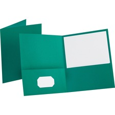 OXF 57555 Oxford Twin Pocket Letter-size Folders OXF57555