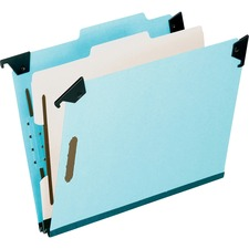 PFX 59251 Pendaflex Blue Pressbrd Hanging Classifictn Folder PFX59251