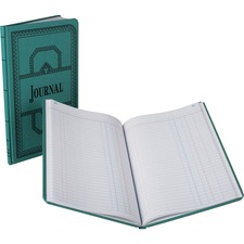BOR 66150J Boorum 66 Series Blue Canvas Journal Books BOR66150J